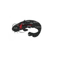 Sticker Delphin Words  SOMN