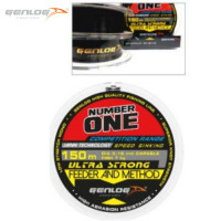 FIR MONOFILAMENT GENLOG NUMBER ONE FEEDER AND METHOD 150 M 0.25 MM 15 KG