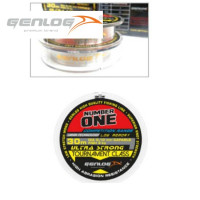 FIR MONOFILAMENT GENLOG NUMBER ONE TOURNAMENT CLASS 30 M 0.14 MM 6KG