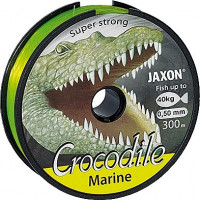FIR JAXON CROCODILE MARINE FLUO 300m 0.40mm