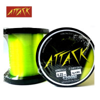 FIR MONOFILAMENT ATTACK SPECIAL CASTING 1200MT 0.24MM 5KG