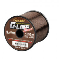 FIR MONOFILAMENT GAMAKATSU G-LINE ELEMENT DARK BROWN 030MM/6,80KG/1325M