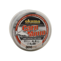 FIR  MONOFILAMENT OKUMA CARP MONO 033MM/7,3KG/300M