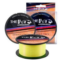 FIR MONOFILAMENT THE ONE DISTANCE FORCE YELLOW 270M 0.22mm