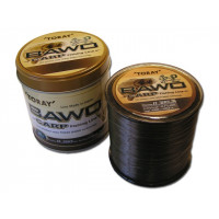 FIR MONOFILAMENT TORAY BAWO CARP 0.32MM/1000MT/ 8.1KG