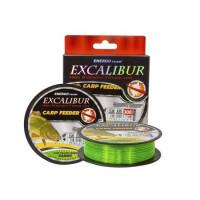Fir EnergoTeam Excalibur Feeder Fluo Galben-Verde Camou 300m 0.35mm