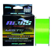 Fir Monofilament Nevis Mistral Fluo Green 300m 0.28mm