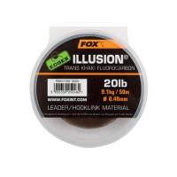Fluocarbon FOX Edges Illusion Leader 50m 0.50mm 13.64 kg