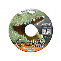 FIR JAXON CROCODILE FLUOROCARBON COATED 150m 0.25mm