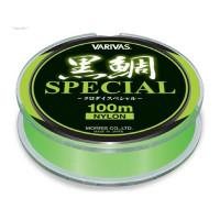 Fir Monofilament Varivas Kurodai Special Vep Flash Green 100m 0,235 MM