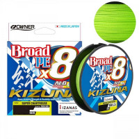 Fir Owner Kizuna X8 Broad 0.12mm 135m Chartreuse
