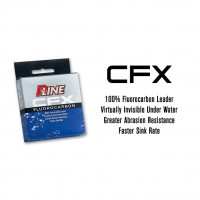 Fir P-LINE CFX FLUOROCARBONIO 50 M 0.34 MM 15Lb CLEAR