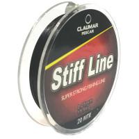 Fir Textil Teflonat Claumar Pescar Stiff Line 20m 0.12mm 6.8kg
