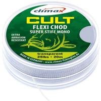 Fir monofilament Climax CULT CRAP FLEXI CHOD MONO HOOKLINK 20m 0.40mm 15lb