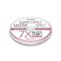 Fir Fly Leader Varivas Super Tippet Master Spec Nylon 50m 6.5X
