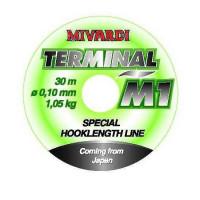 Fir Mivardi Monofilament Terminal M1 30m 0.10mm 1.05kg