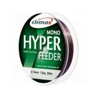 Fir monofilament Climax FIR HYPER FEEDER 250M 0.14mm Dark Brown