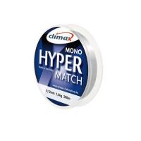 Fir monofilament Climax FIR HYPER MATCH SINKING 200m 0.12mm Light Grey