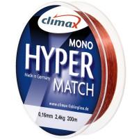 Fir monofilament Climax FIR HYPER MATCH SINKING 200m 0.22mm Cooper