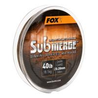 FIR TEXTIL FOX SUBMERGE DARK CAMO SINKING BRAID 600M 0.16MM