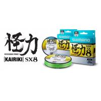 FIR TEXTIL SHIMANO KAIRIKI PE MANTIS GREEN 0.18MM 150M 14.0KG