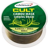 Fir textil Climax CULT CRAP CAMOU MASK SINKING 500m 0.18mm 4.53kg