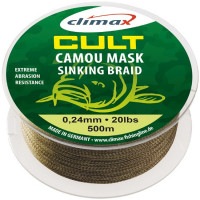 Fir textil Climax CULT CRAP CAMOU MASK SINKING 500m 0.24mm 9.07kg