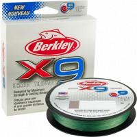 FIR BERKLEY TEXTIL X9 FLURO VERDE 0.20MM 150M