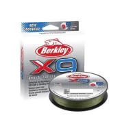 FIR BERKLEY TEXTIL X9 LOW VIS VERDE 0.06MM 150M