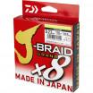 FIR DAIWA J-BRAID GRAND X8 YELLOW 016MM/10KG/135M