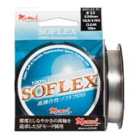 FIR FLUOROCARBON MOMOI SOFLEX  100M 0.117MM 1.2KG 2.5LB