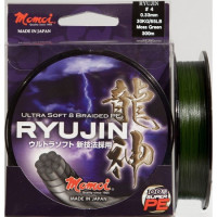 FIR MOMOI RYUJIN PE BRAIDED 0.14-130M MOSS GREEN