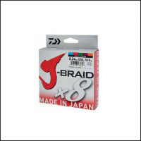 FIR TEXTIL DAIWA J-BRAID X8 MULTICOLOR 006MM 4KG 150M