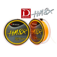 Fir Dragon Hm8x Forte Toray Braid 0.20mm / 23.60kg / Orange Fluo