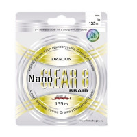 Fir Dragon Nanoclear 8 Toray 135m 0.06mm / 5.4kg / Transparent