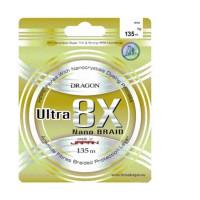 Fir Dragon Ultra 8X Nano 135m Green Fluo 0.08mm / 6.7kg / Green Fluo