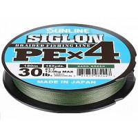 Fir Sunline Siglon PE x4 Dark Green 35LB 0.242mm