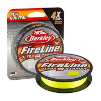 Fir Textil Berkley Fireline Ultra 8 Verde Fluo 0.17mm 10.7 Kg 150m