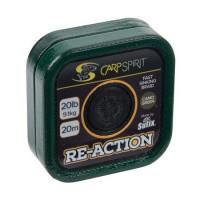Fir Textil Carp Spirit Re-Action Camo Green 20m 20lbs 9.10kg