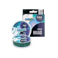 Fir Textil Kamasaki Super Braid Green 100m 0.50mm 48.8kg