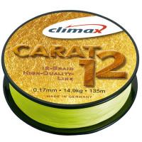 Fir textil Climax CARAT 12 FLUO YELLOW 135m 0.17mm 14.9kg