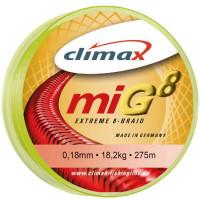 Fir textil Climax MIG8 FLUO YELLOW 135m 0.25mm 24.5kg