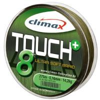 Fir textil Climax TOUCH 8+ GREEN 135m 0.30mm 29.5kg