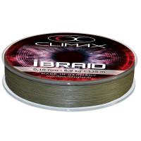 Fir textil Climax iBRAID OLIVE GREEN 135m 0.18mm 16.6kg