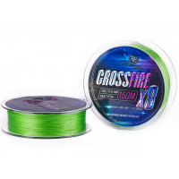 Fir textil RTB Crossfire X8 Braid Lime Green 150m 15 LB 0.155 MM