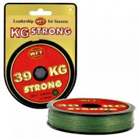 Fir textil WFT Strong Verde 0.08mm 300m