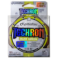 Multifilament Konger Techron Olive 100m 0.08mm