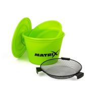 Galeata Matrix Fishing Lime Bucket Set 20l