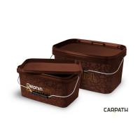 Galeta patrata cu capac Delphin CARPATH 10L