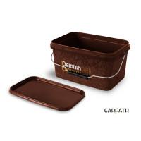 Galeta patrata cu capac Delphin CARPATH 5L